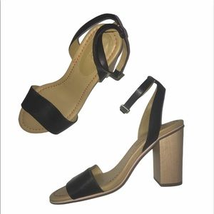 See by Chloé Chunky Wood Heels